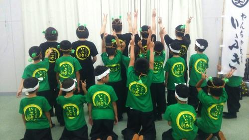 地元西尾市の親子太鼓チーム「やんちゃ太鼓」様のユニフォームとして、・・・