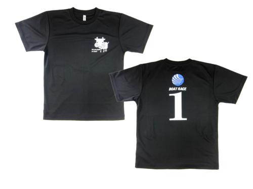 BOAT RACE観戦用Tシャツです!  左胸にロゴを、背中に・・・