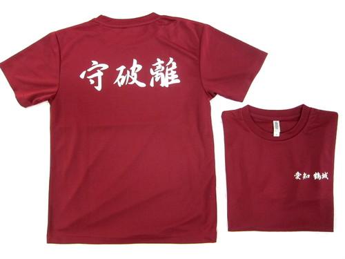 こちらも夏用ドライTシャツです。  剣道チームの皆様の応援用T・・・